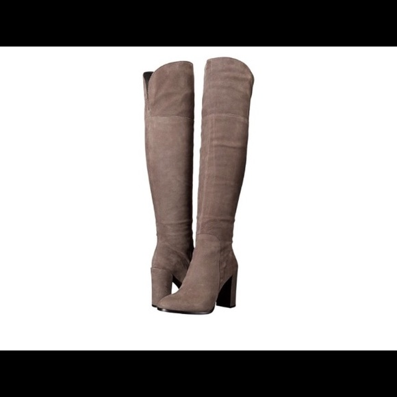 c0c2b7d09f1 FINAL🔥Kenneth Cole Jack Taupe Over The Knee Boots